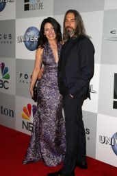 Lisa Edelstein - NBC/Universal 2015 Golden Globes Party