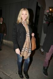 Lisa Kudrow Night Out Style - Leaving Craig