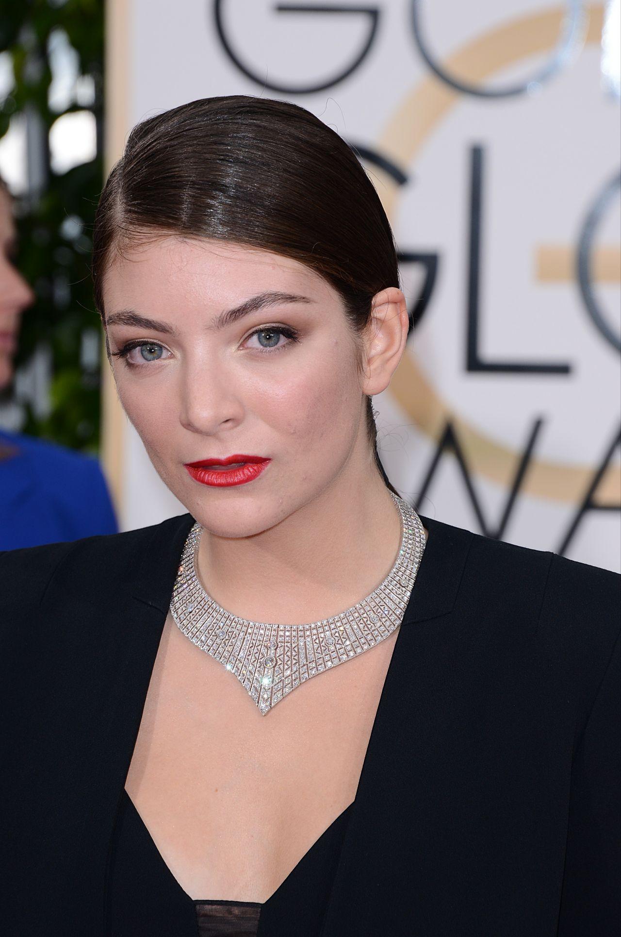 Lorde – 2015 Golden Globe Awards in Beverly Hills