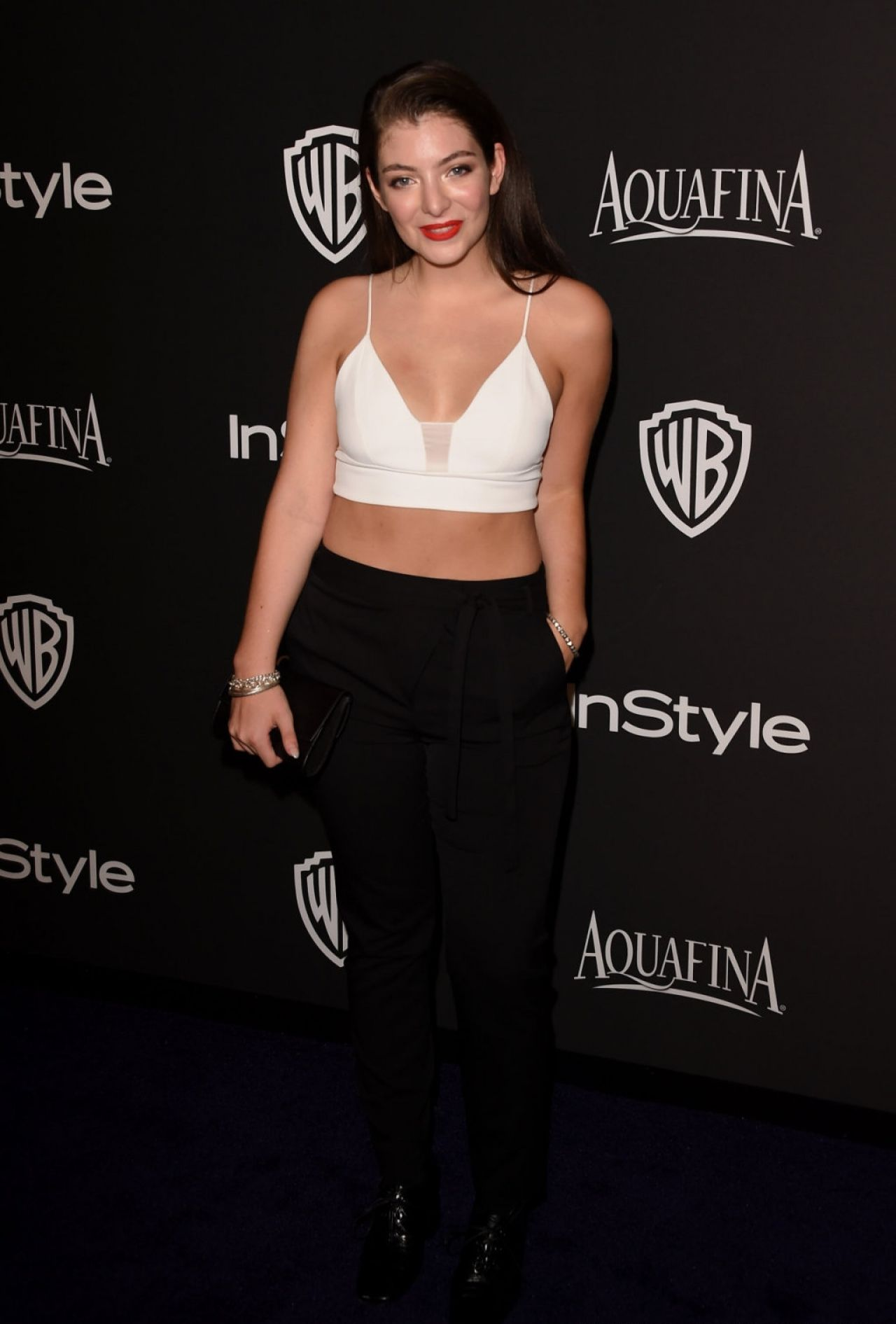 Lorde - InStyle And Warner Bros. 2015 Golden Globe Awards Post-Party