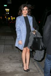 Lucy Hale - Arrives at