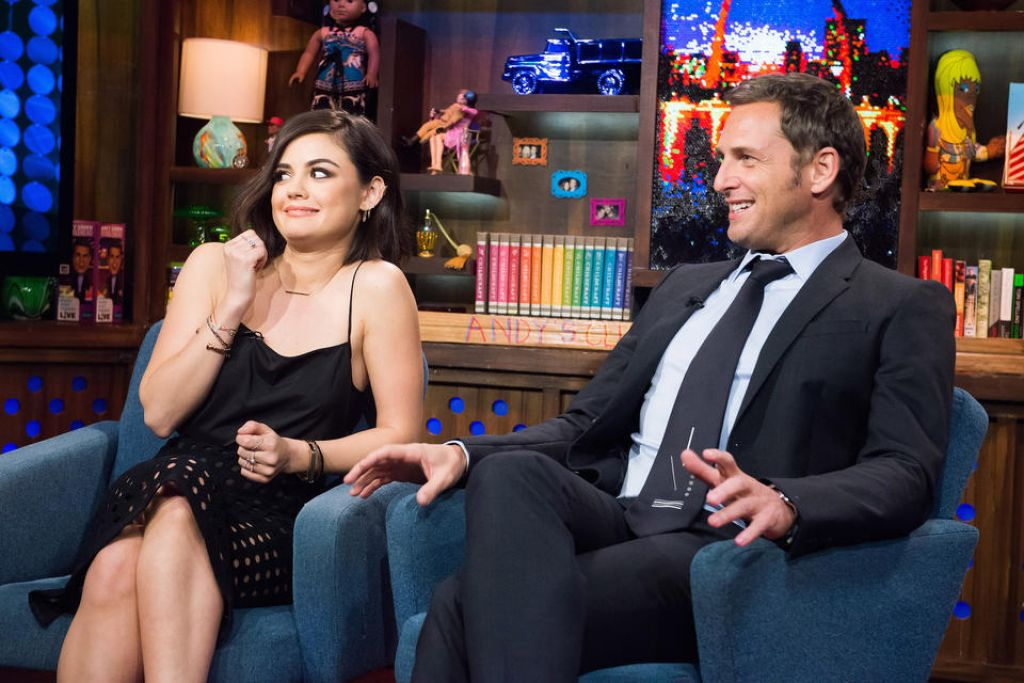 Lucy Hale - Watch What Happens Live - January 2015