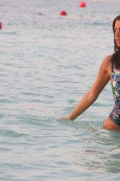 Lucy Mecklenburgh Swimsuit Photoshoot - Dubai, January 2015