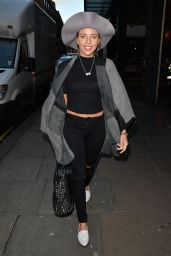Lydia Bright Style - Out in Mayfair - London, January 2015