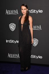 Maggie Q – InStyle And Warner Bros 2015 Golden Globes Party