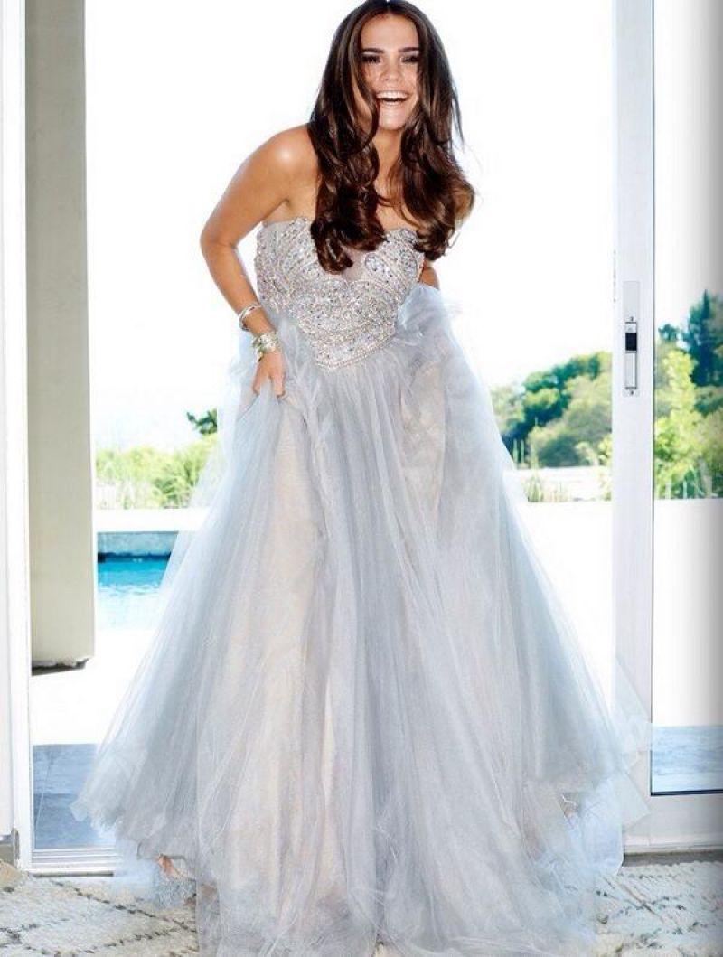 Celebrity prom dress uk