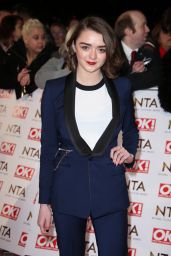Maisie Williams – 2015 National Television Awards in London