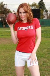 Maitland Ward - Super Bowl XLIX Photoshoot in Los Angeles