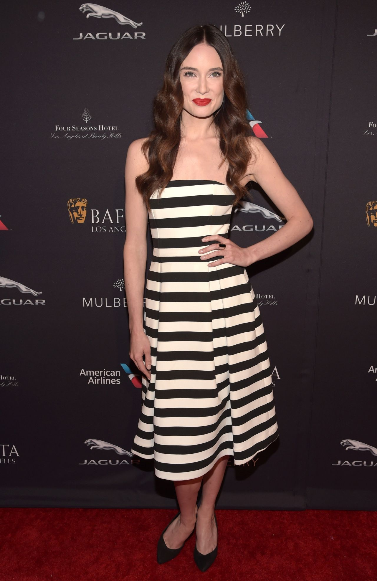 Mallory Jansen 2015 Lingerie BAFTA Los Angeles Tea Party