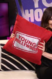 Mallory Jansen - Visiting the Young Hollywood Studio in Los Angeles, January 2015