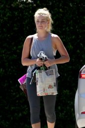 Margot Robbie - Leaving a Gym on the Gold Coast - January 2015