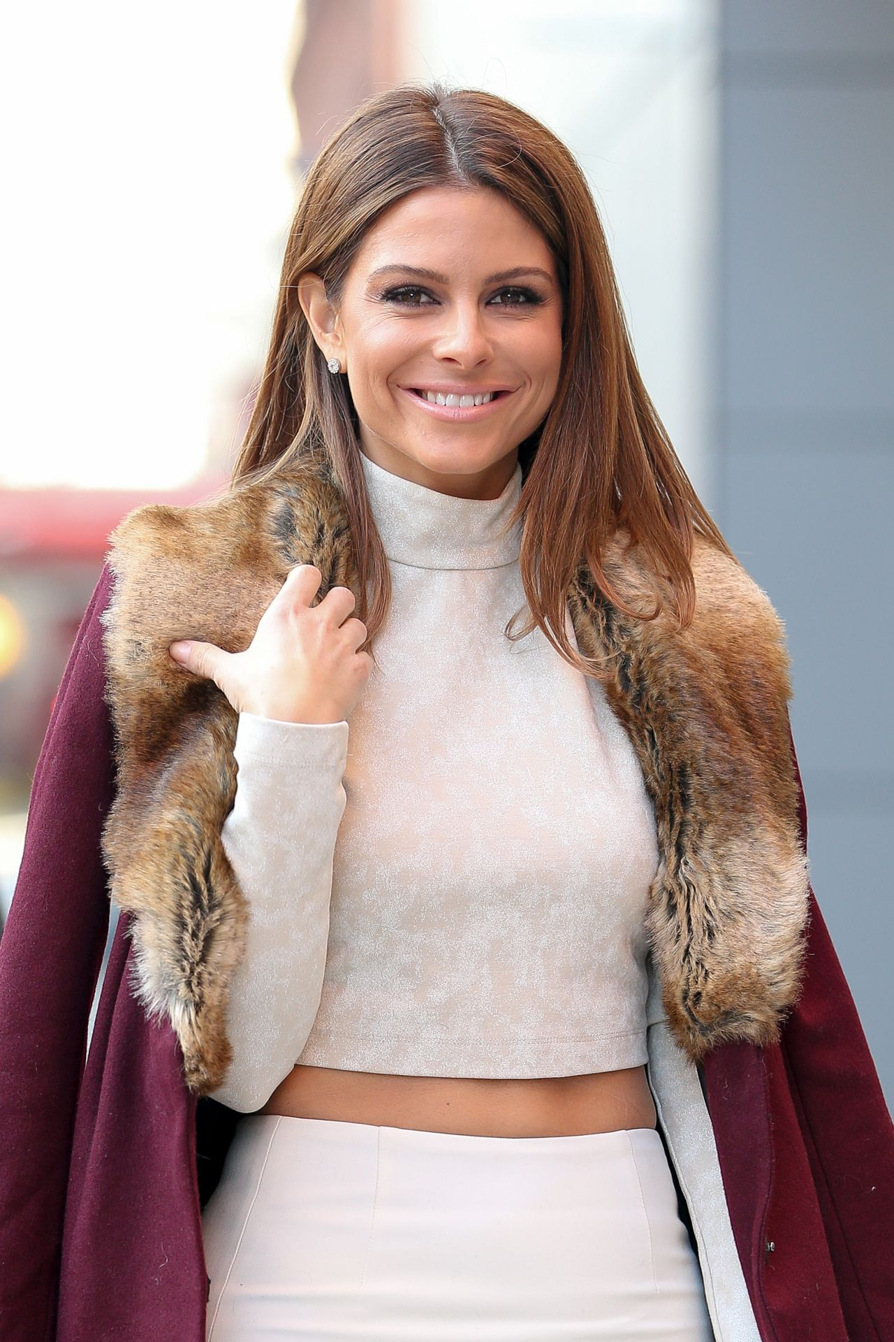 Maria Menounos is Stylish - Out in NY New York City, January 2015