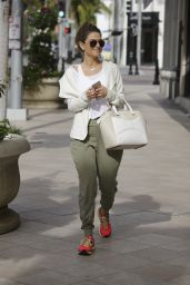 Maria Menounos Street Style - Out in Beverly Hills, January 2015