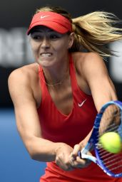 Maria Sharapova – 2015 Australian Open in Melbourne Quarter Final