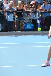 Maria Sharapova - 2015 Australian Open Practice Session