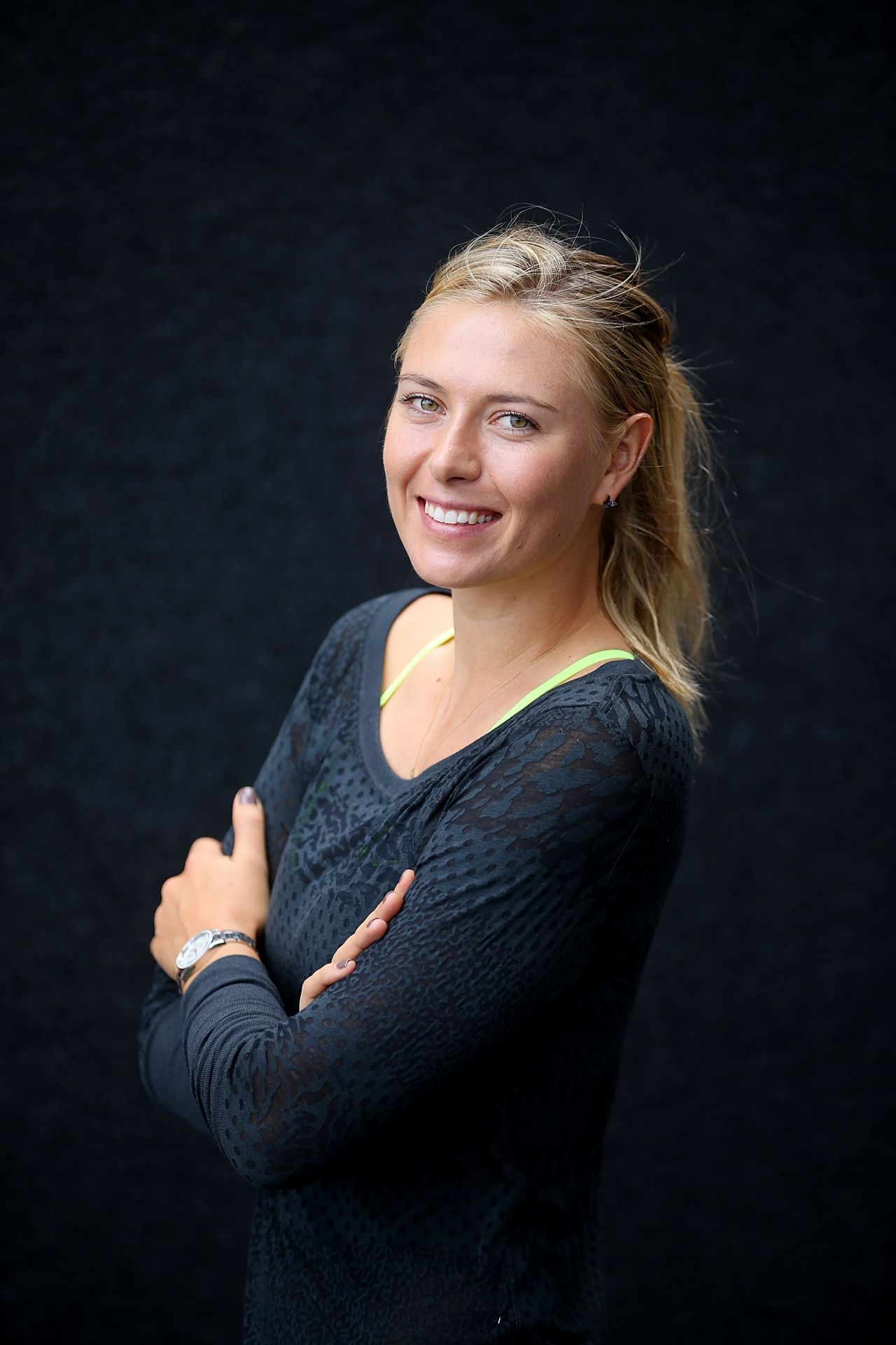 Maria Sharapova Brisbane International 2015 Portraits