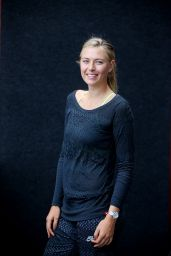 Maria Sharapova - Brisbane International 2015 Portraits