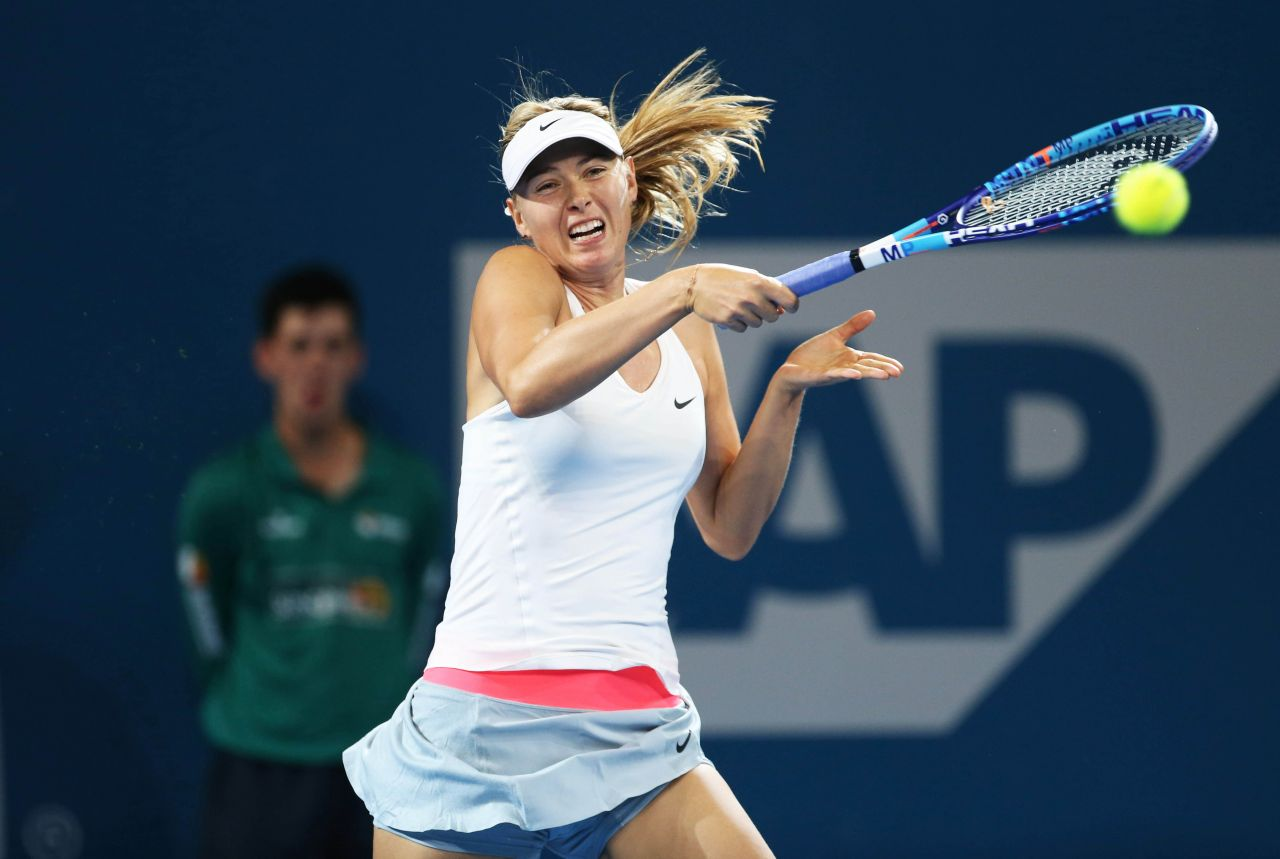 Maria Sharapova – Brisbane International 2015 – Semi Final