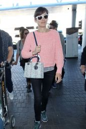 Marion Cotillard Casual Style - at LAX Airport, January 2015
