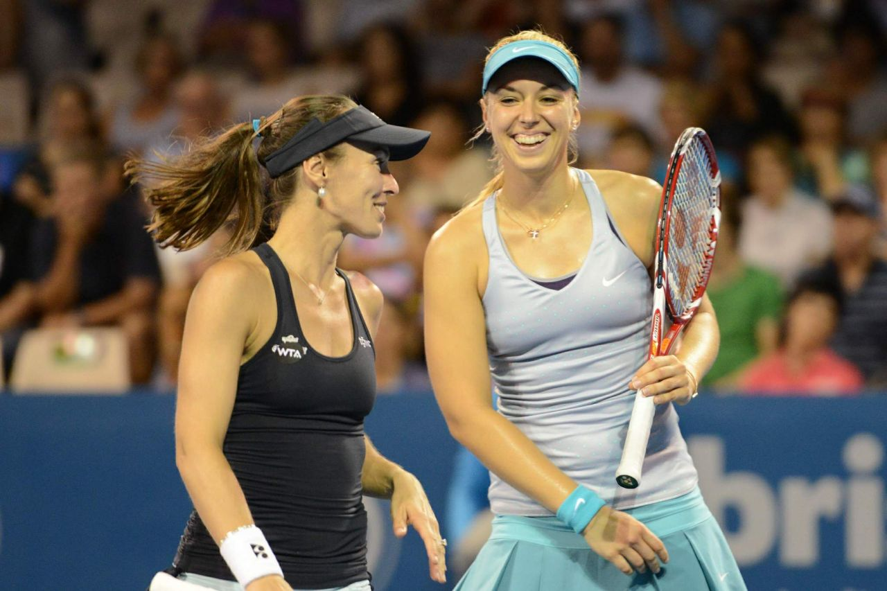 Martina Hingis and Sabine