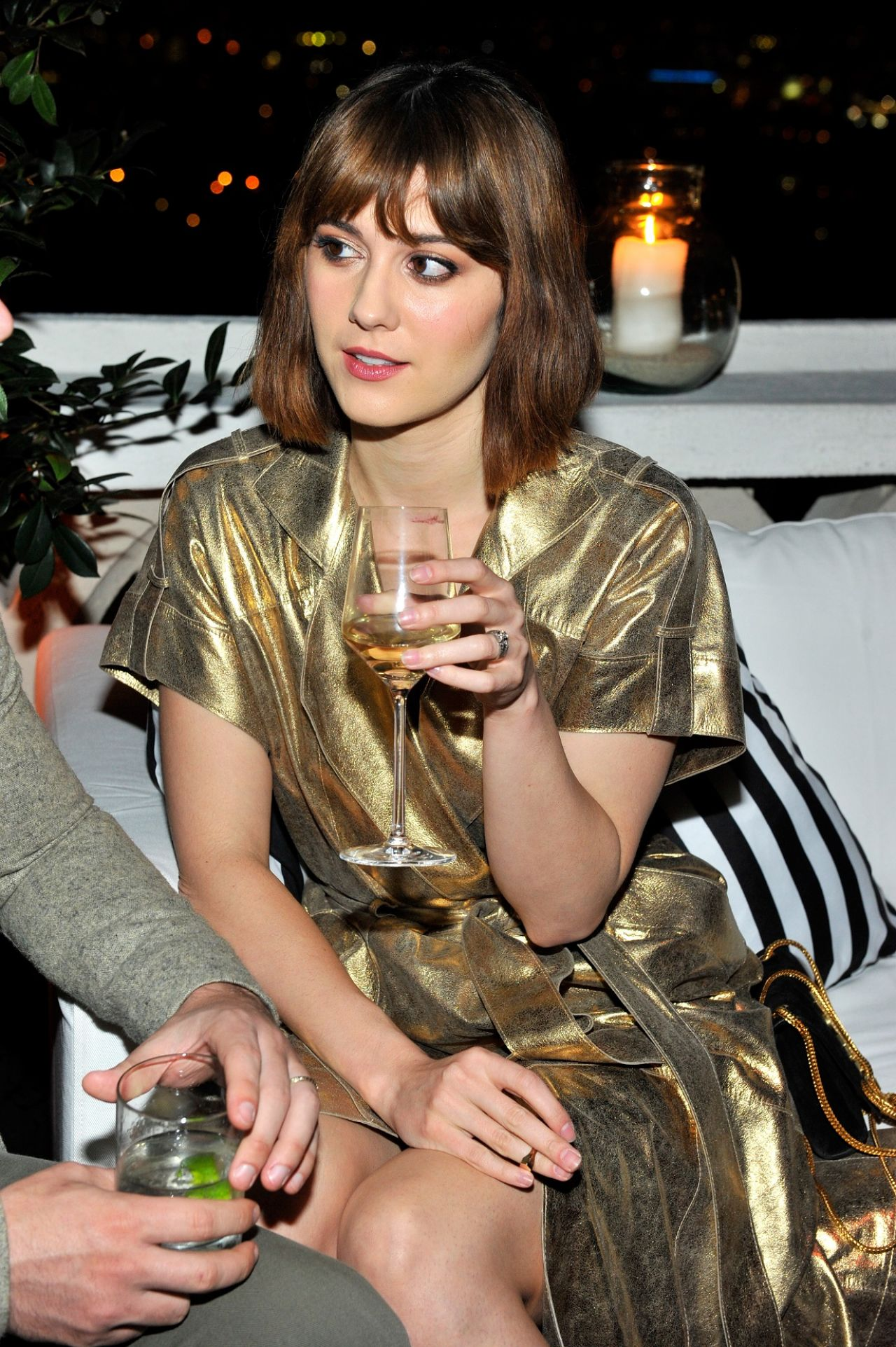 Mary Elizabeth Winstead – W Magazine Celebrates Golden Globes Week 2015 in Los Angeles