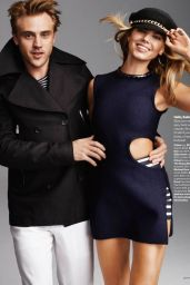Maryna Linchuk - Glamour Magazine (US) February 2015 Issue