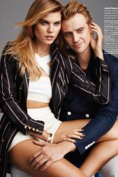 Maryna Linchuk - Glamour Magazine (US) February 2015 Issue