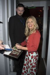 Melinda Messenger - At Dinner Hosted by David Gest in Soho, London
