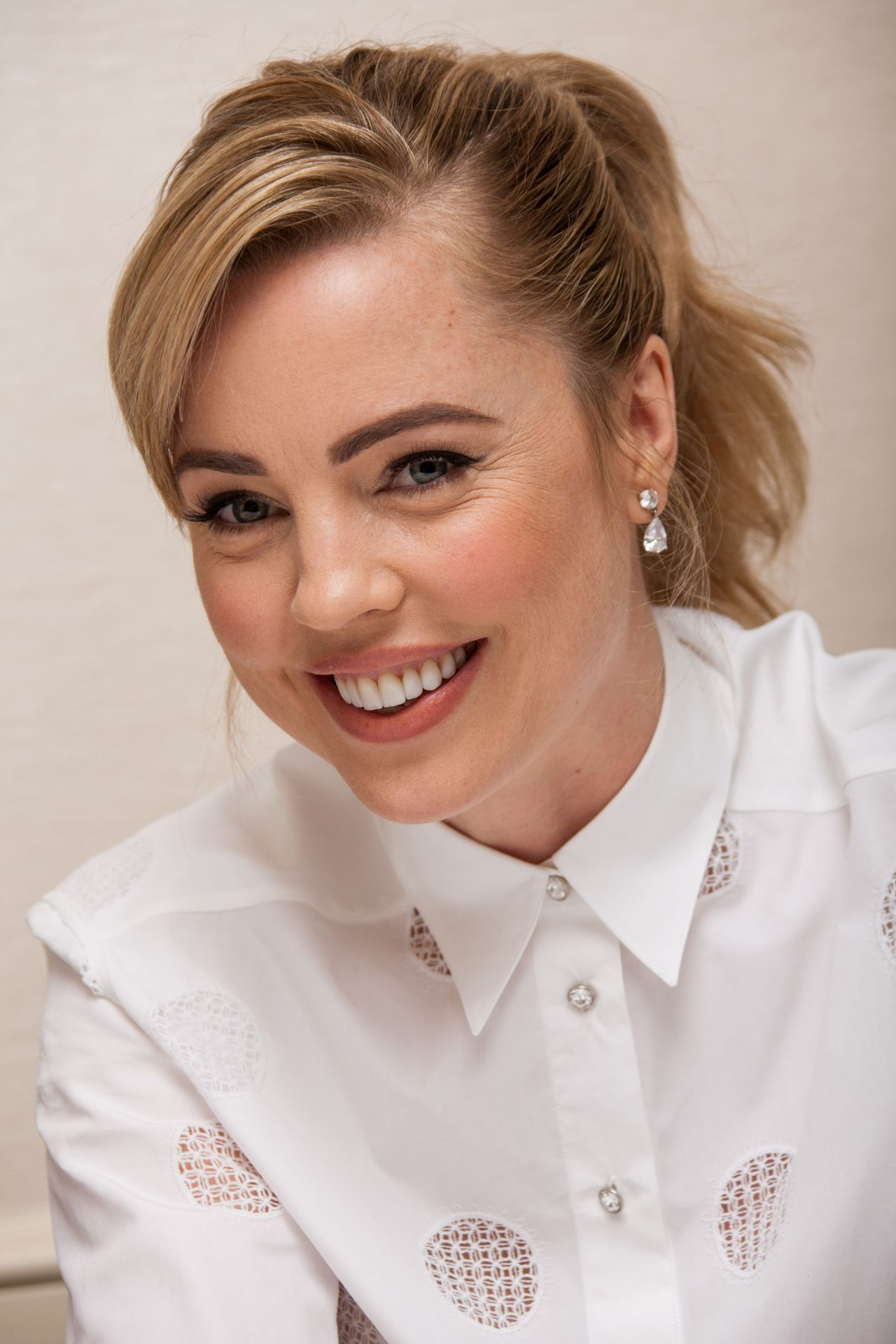 Melissa George The Slap Press Conference Portraits