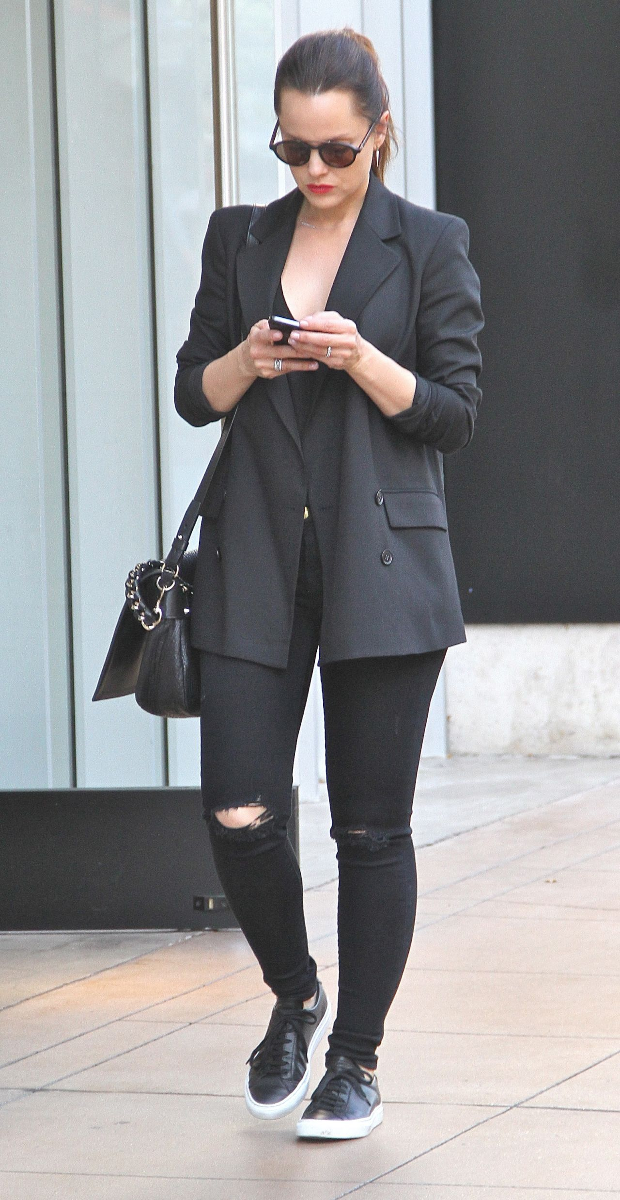 Mena Suvari - Out at The Grove in West Hollywood, January 2015