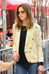 Michelle Monaghan - Going to the Grove in Los Angeles, January 2015