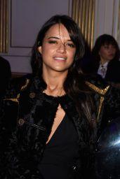 Michelle Rodriguez - Atelier Versace Spring/Summer 2015 Show in Paris