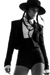 Michelle Rodriguez - Photoshoot for Interview Magazine February 2015