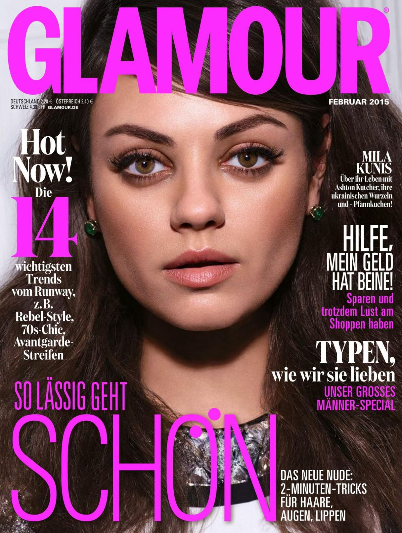 Editorial Glamour Makeup Professional Makeup Artist: Glamour Magazine (Germany)