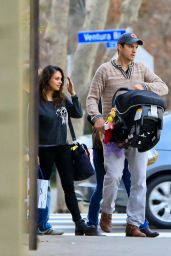 Mila Kunis - Out for Dinner in Los Angeles, Jan. 2015