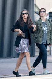 Minka Kelly - Out in Los Angeles - January 2015