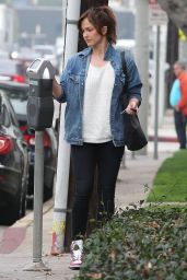 Minka Kelly Street Style - Out in West Hollywood, January 2015