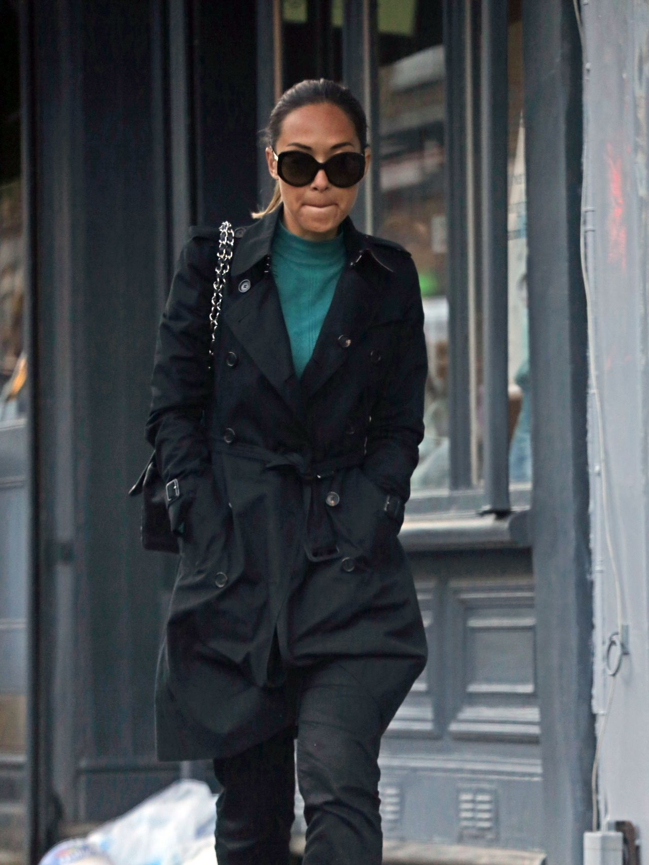 Myleene Klass - Out in London, January 2015