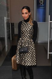 Myleene Klass Style - at Capital Radio Studios in London, Jan.2015