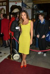 Myleene Klass Style - Di and Viv and Rose Press Night in London