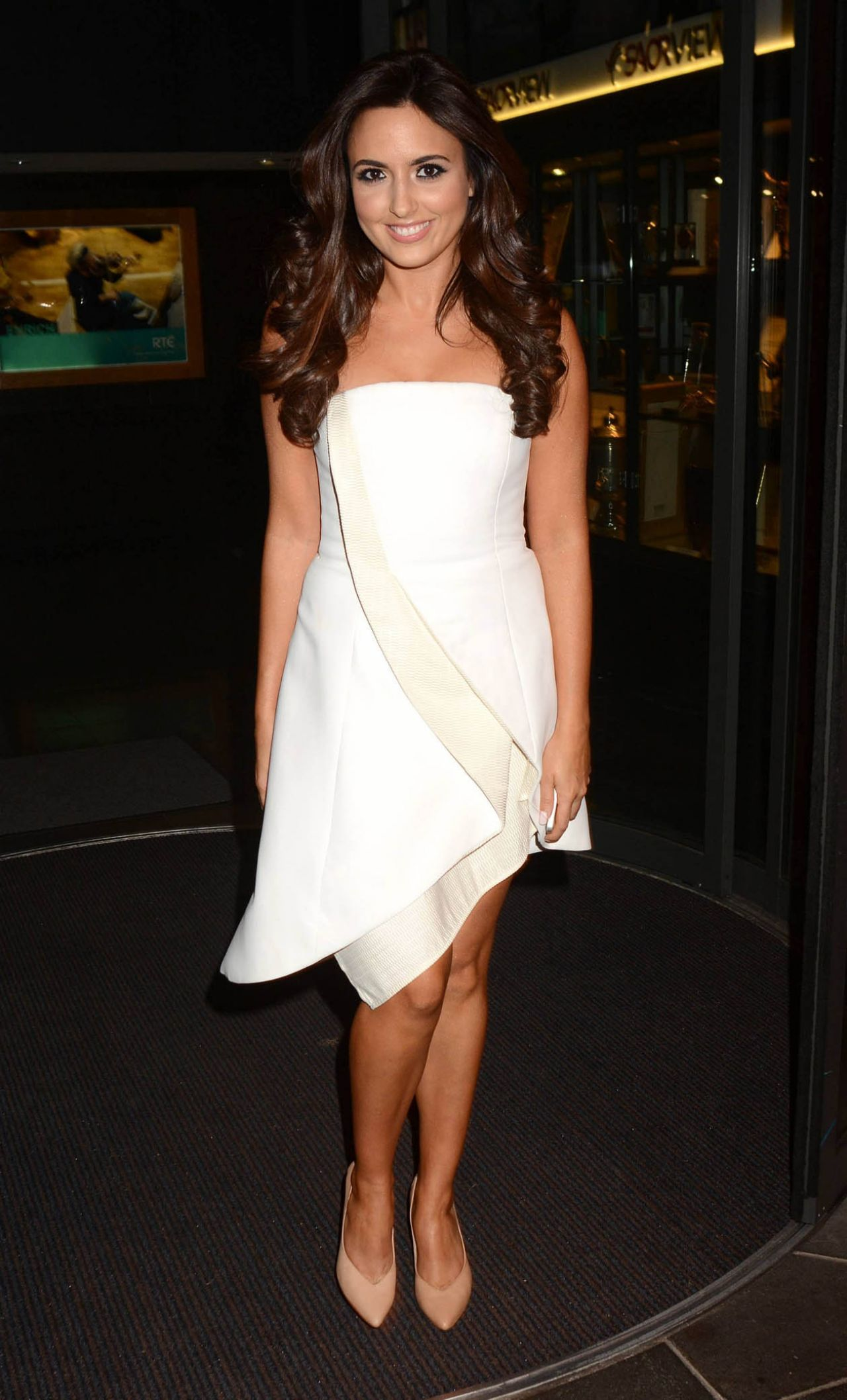 Nadia Forde Arriving To Appear On Rte S The Late Late