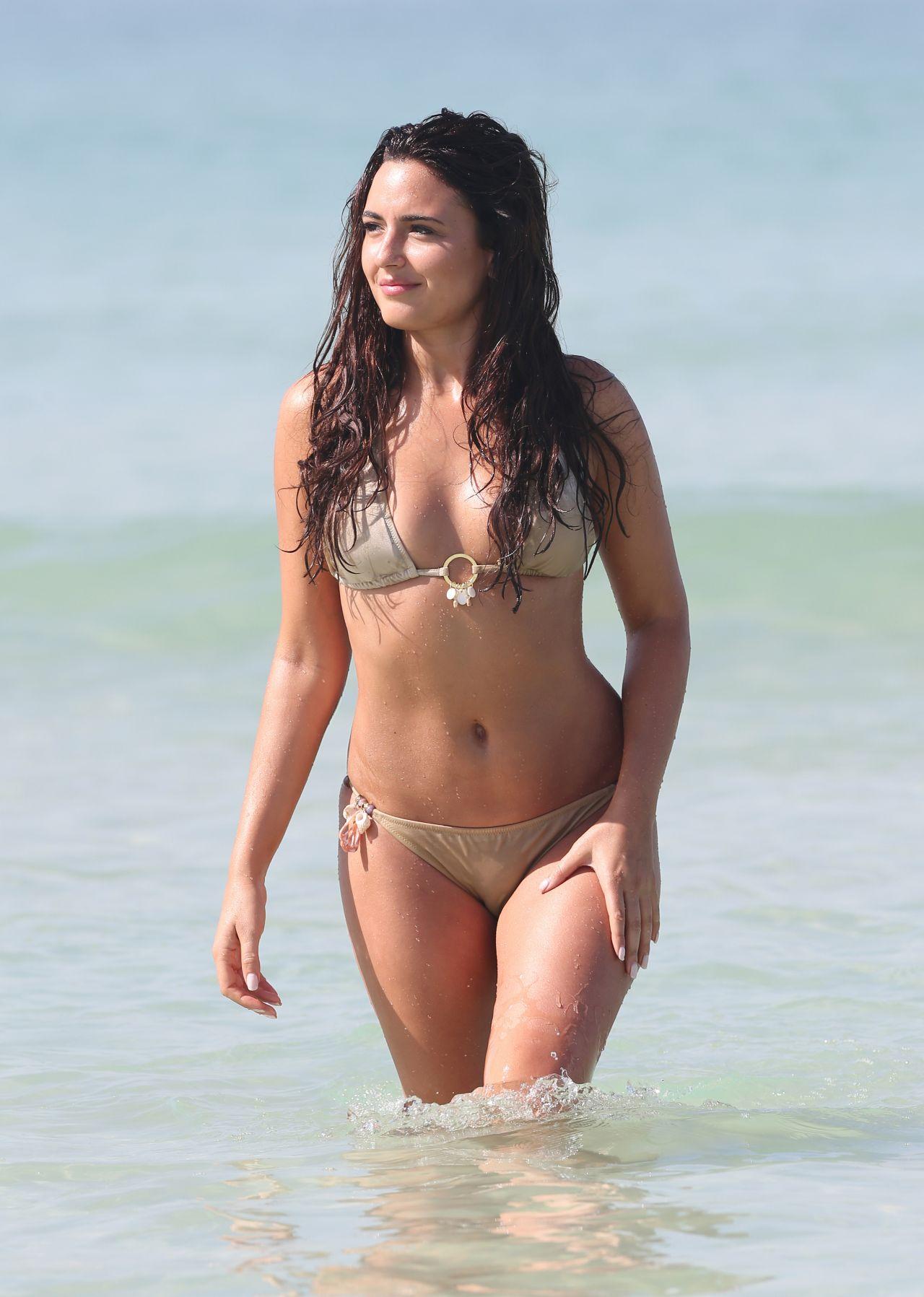 Nadia Forde Bikini Pics - Dubai, January 2015