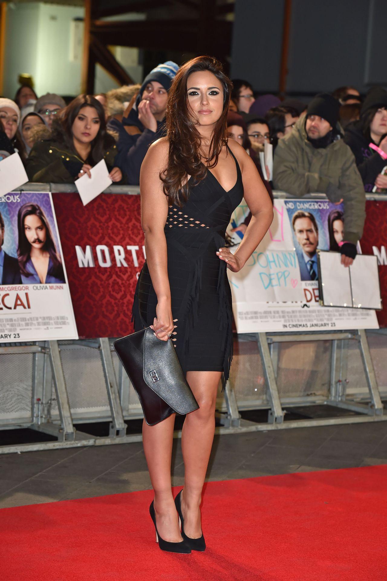 Nadia Forde Mortdecai Premiere In London