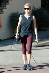 Naomi Watts - Leaving the Gym in Brentwood, January 2015