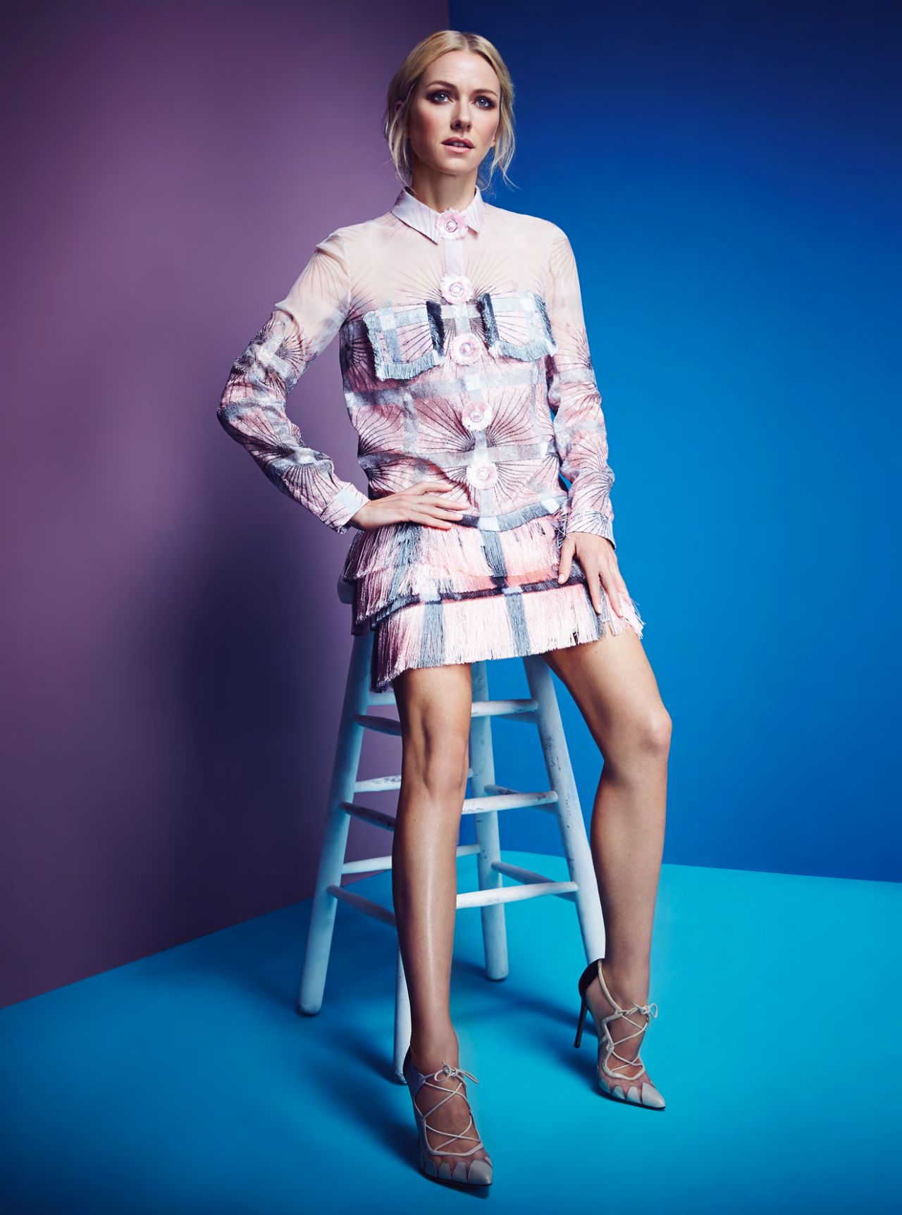 Naomi Watts Photoshoot For Instyle Magazine Uk February 2015