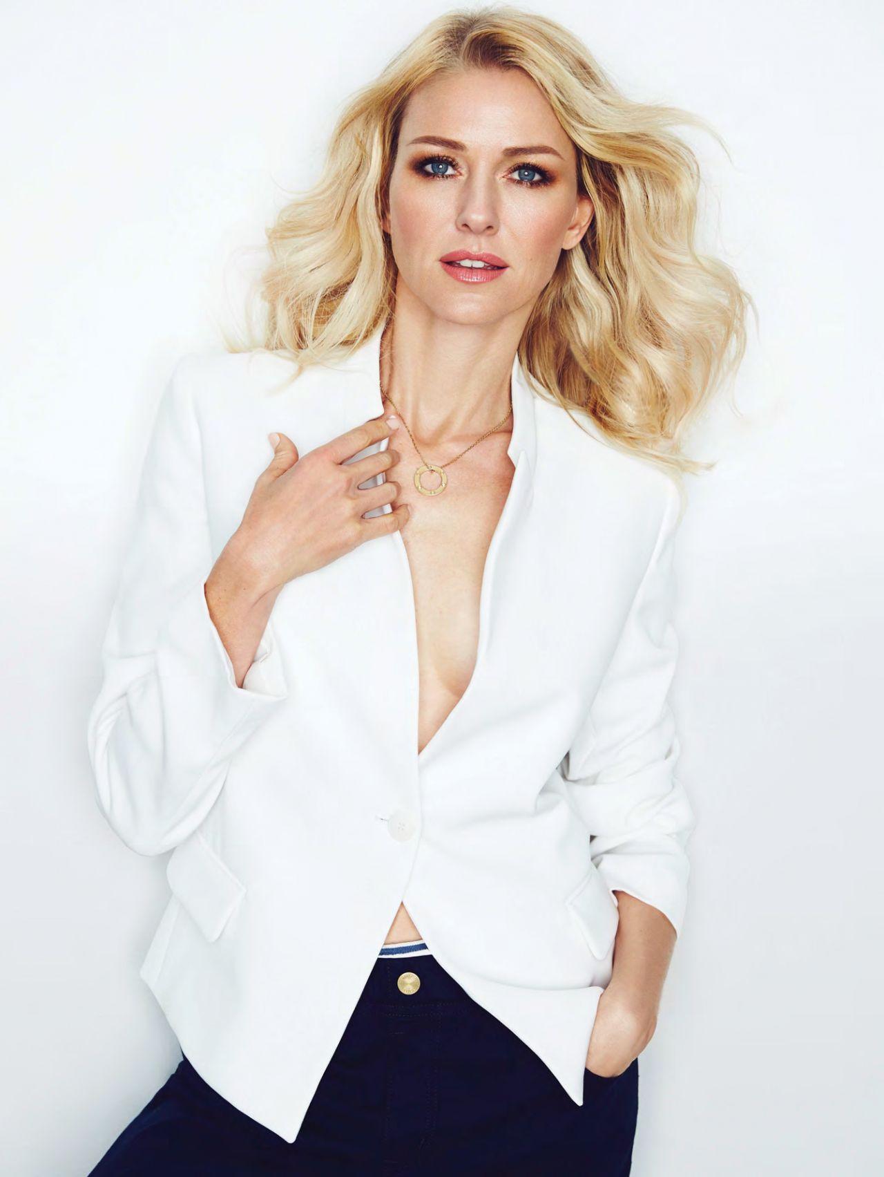 Naomi Watts – Photoshoot for InStyle Magazine (UK) February 2015 Naomi Watts