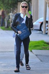 Naomi Watts Street Style - Out in Brentwood, January 2015