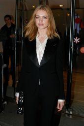 Natalia Vodianova - Berluti Menswear Fall/Winter 2015-2016 Show, Paris Fashion Week in Paris