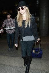 Natalie Dormer - Arrives at LAX Airport in Los Angeles - January 2015