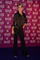 Natalie Lowe – VIP Performance of 'Kooza' by Cirque Du Soleil in London, Jan. 2015